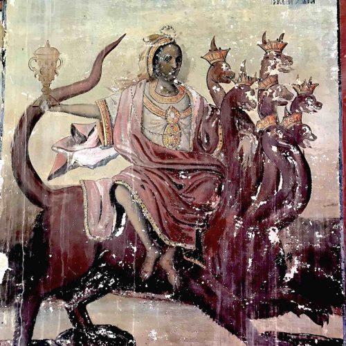 Фото для Части VI - Блудница вавилонская (фреска мон. Иверон Афон) small